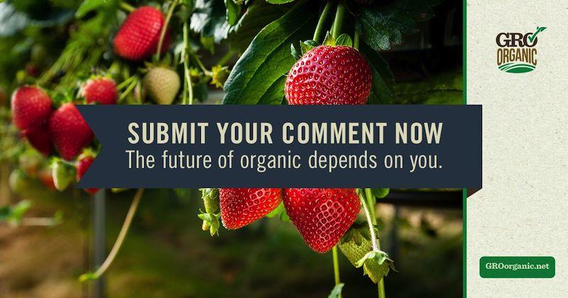 gro organic comment