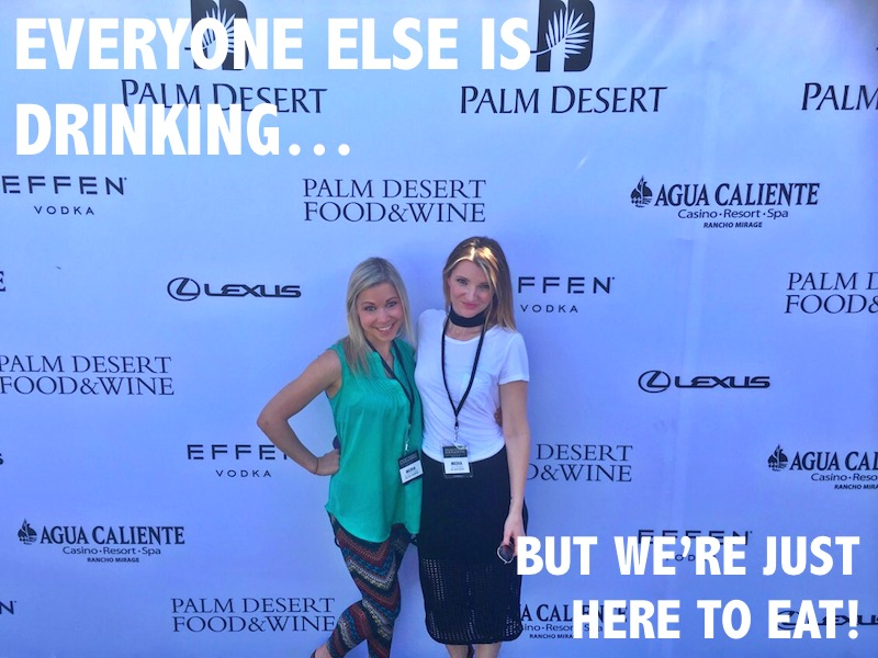 Palm Desert Food Wine Festival GiGi Tara