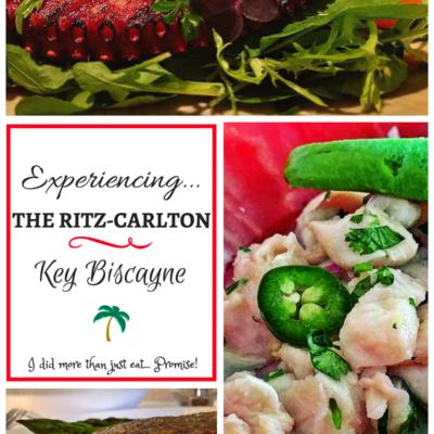 Getting Ritzy at The Ritz-Carlton