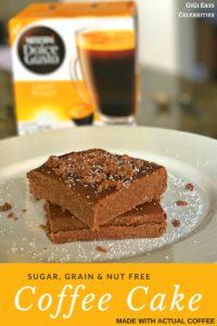 dolce gusto sugar free coffee cake