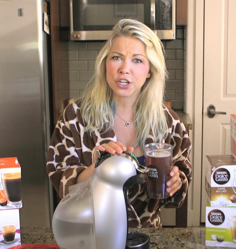 Coffee Maker GiGi Eats Celebrities