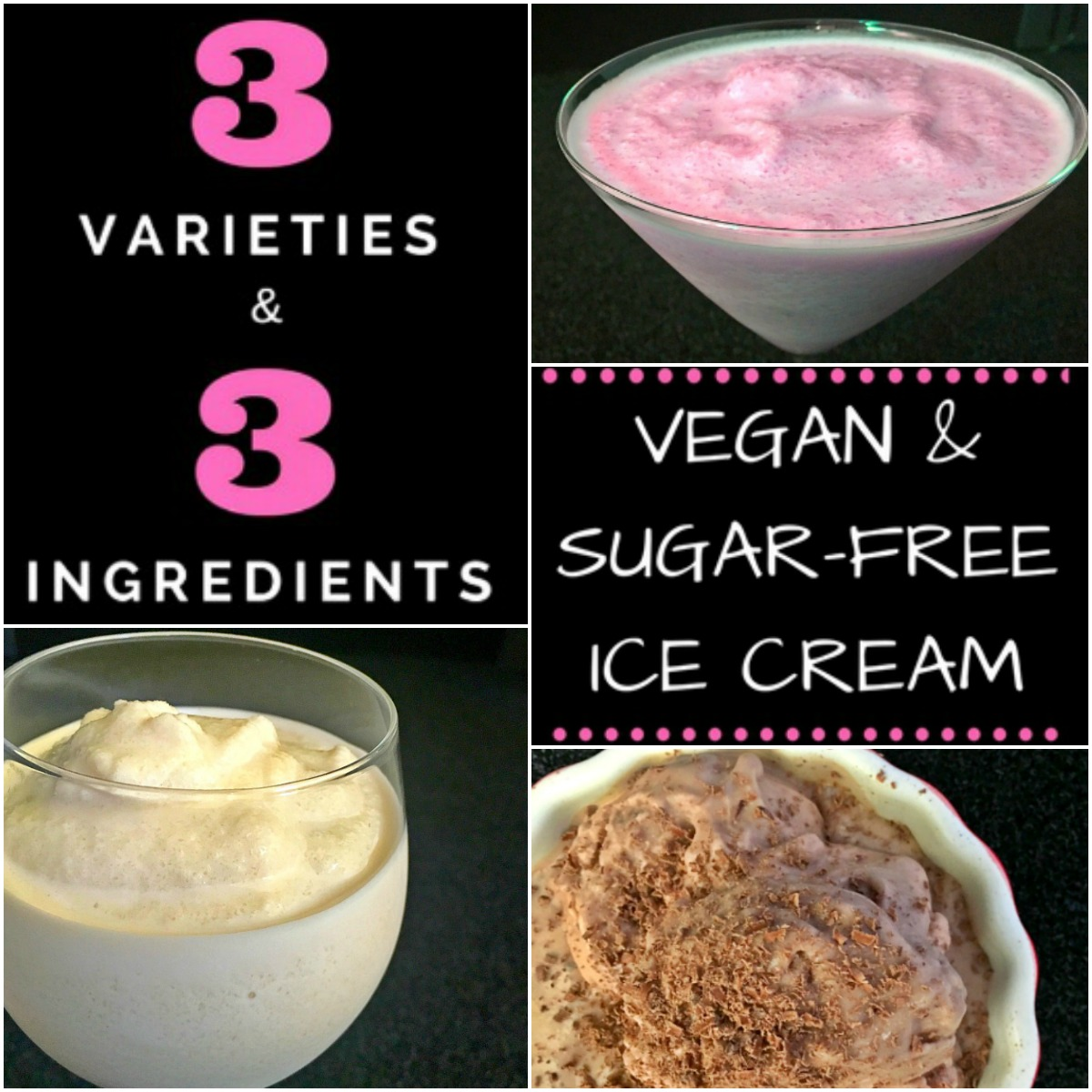 Sugar, Nut, Fruit & Gluten Free, Vegan Ice Cream