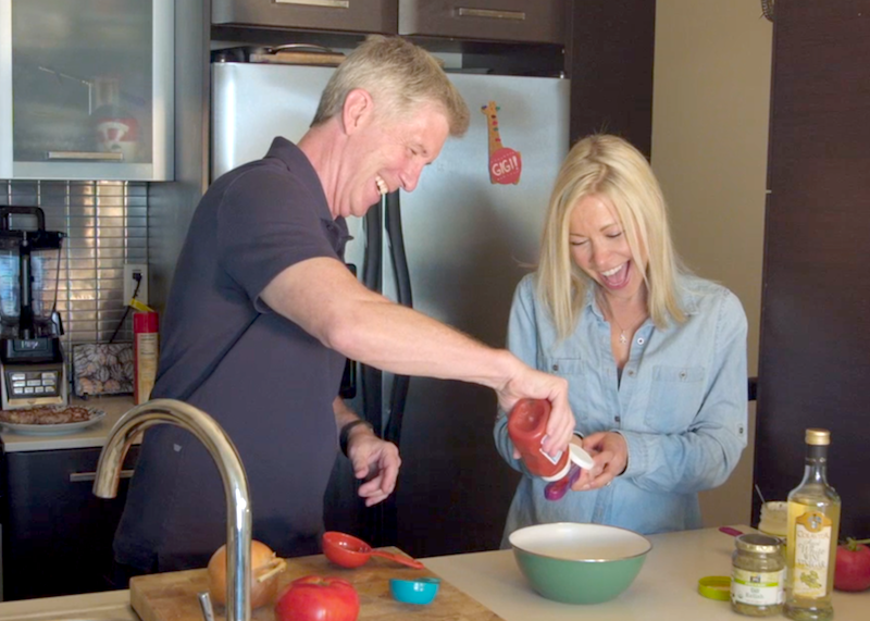 Tom Bergeron Kitchen GiGi Eats Celebrities