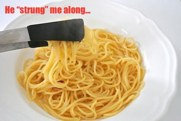 plain spaghetti