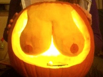 pumpkin-boobs