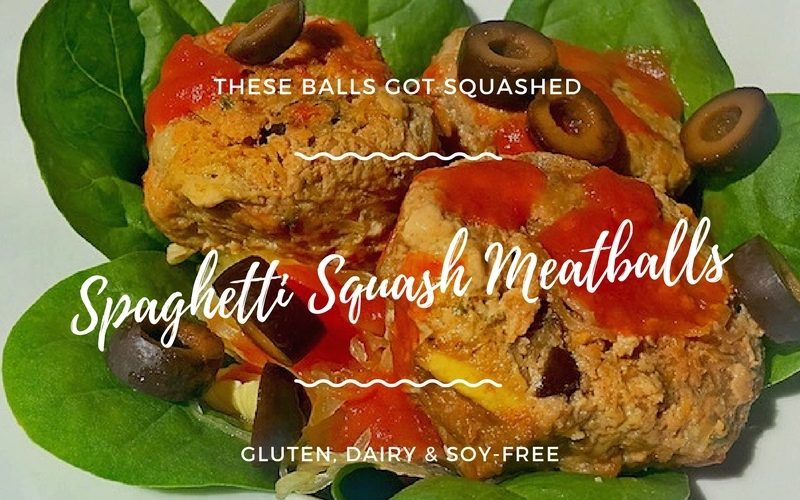 spaghetti squash meatballs smaller