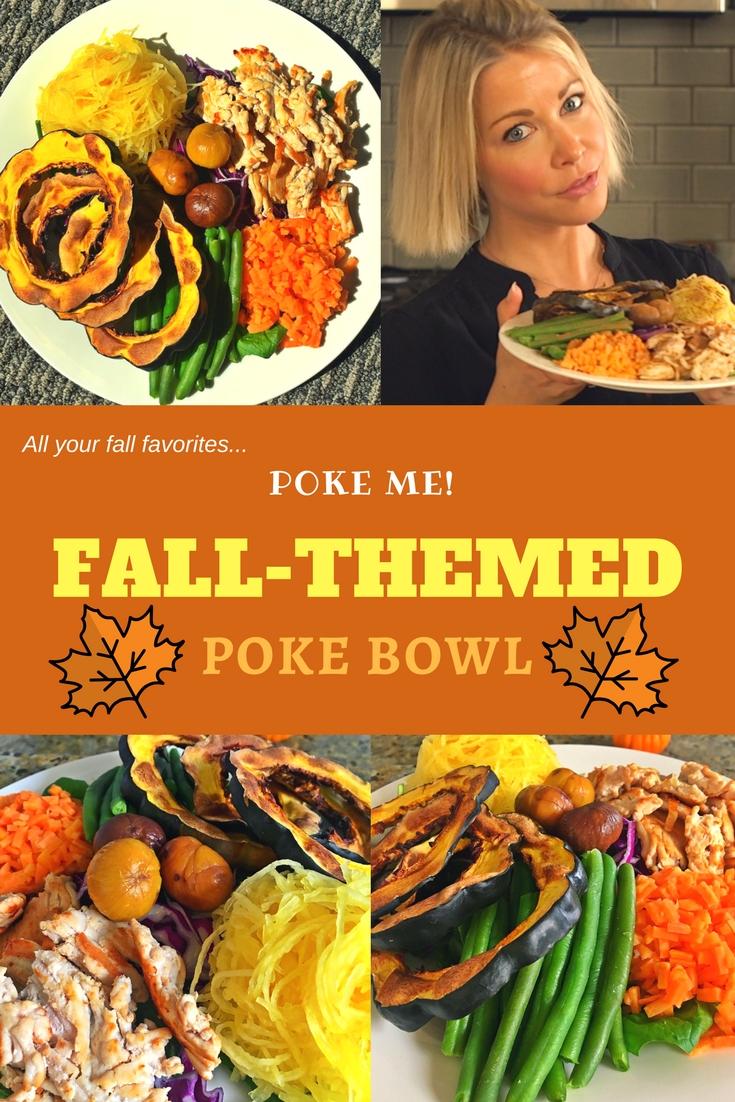 Fall Themed Poke Bowl Pinterest