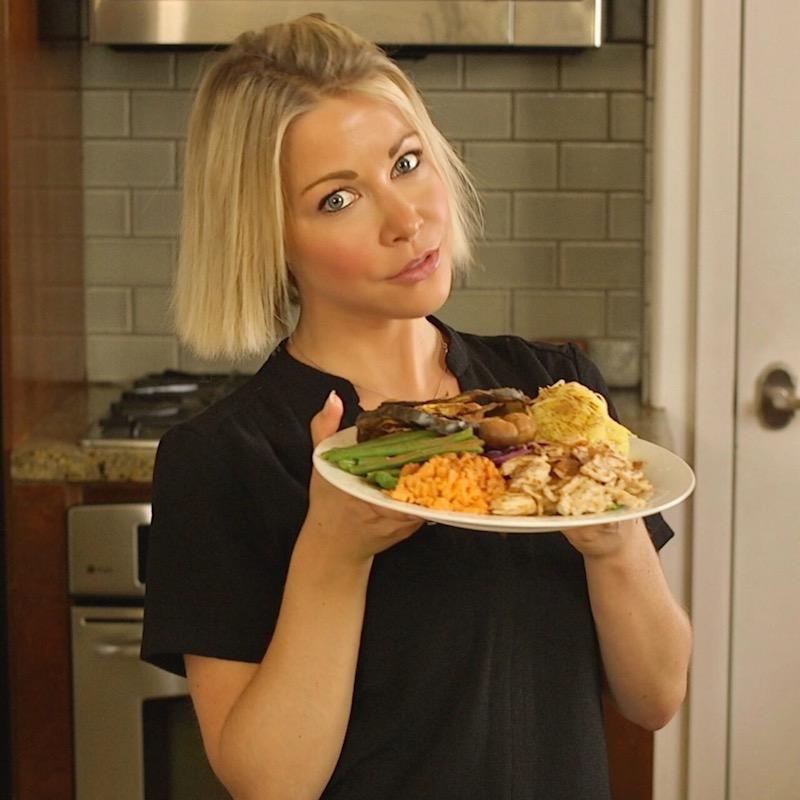Grab a Thanksgiving Poke Bowl - gigi eats celebrities