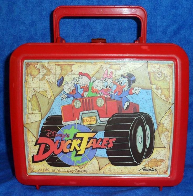 ducktales lunch box