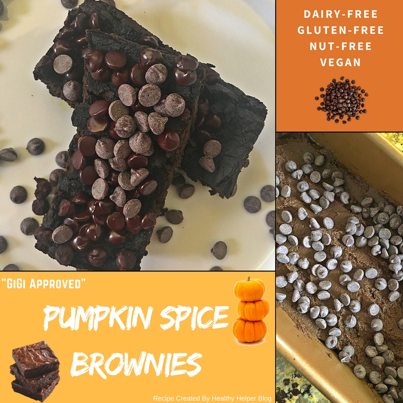 Pumpkin Spice Brownies GIGI EATS Blog Image