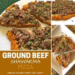 <i>Marvel</i> Over This Ground Beef Shawarma Pizza