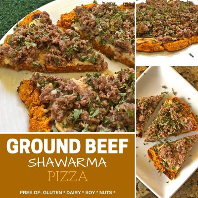Marvel Over This Ground Beef Shawarma Pizza