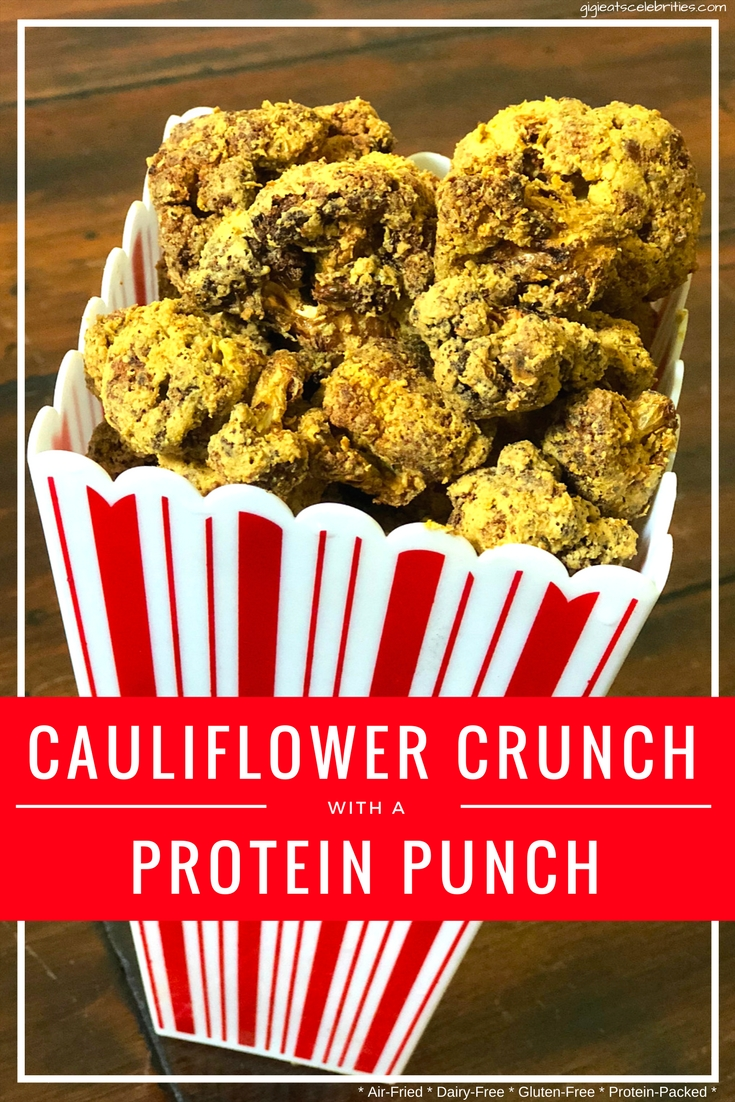 cauliflower popcorn pinterest