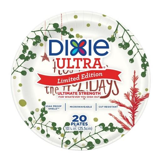 dixie plates holiday