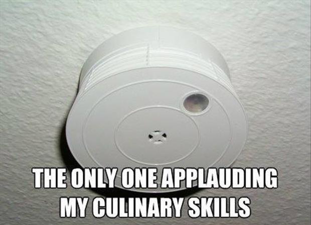 fire alarm culinary skills