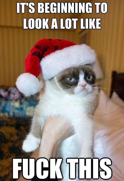 fuck this christmas holiday