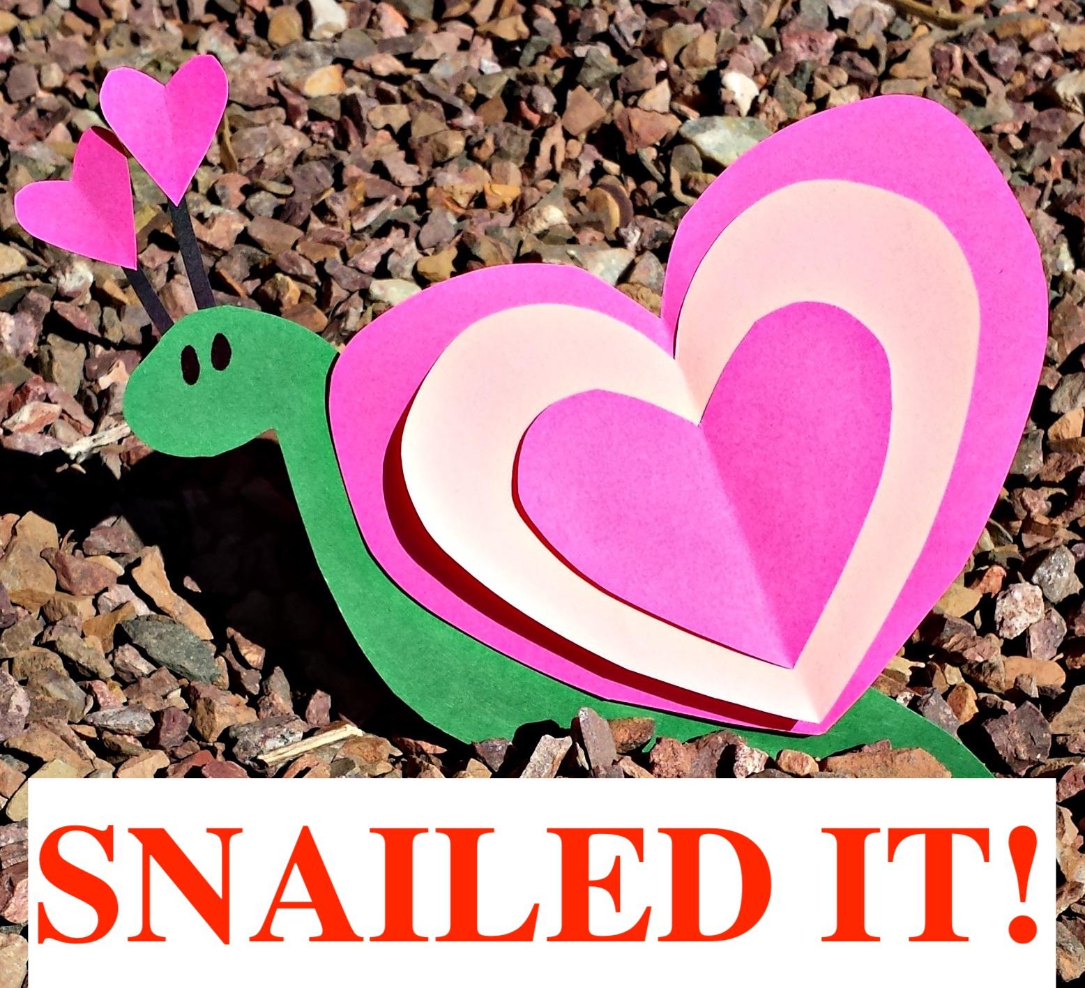 heart-snail-craft